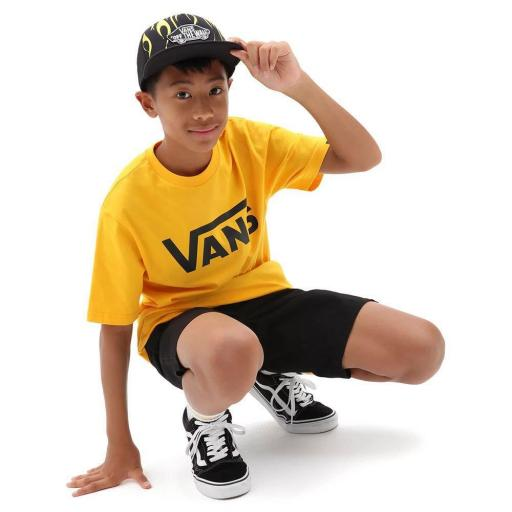 VANS, Camiseta  Junior Classic amarillo *2826*