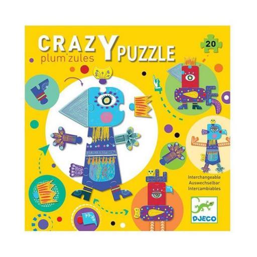 Crazy puzzle amarillo
