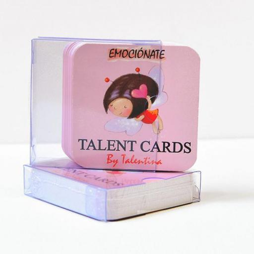 Talent cards emociónate