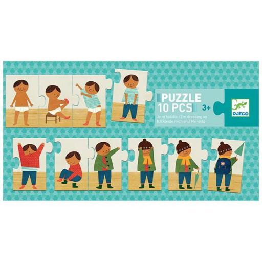 Puzzle 10 pcs me visto solo