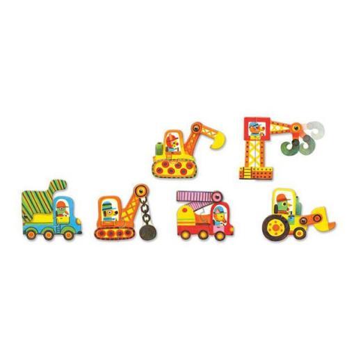 Puzzle dúo vehicles [1]