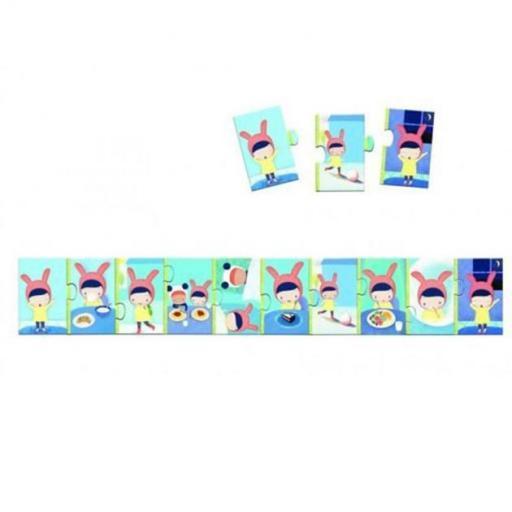 Puzzle 10 pcs la journee [1]
