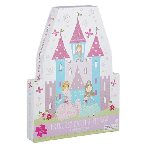 Puzzle castillo de princesas
