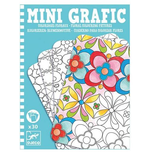 Mini graphic: Pintar flores