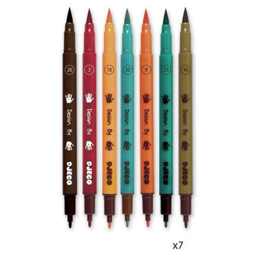 Arte al número. Rotuladores y pinceles [2]