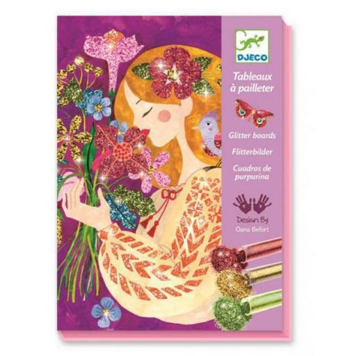 Cuadros con purpurina