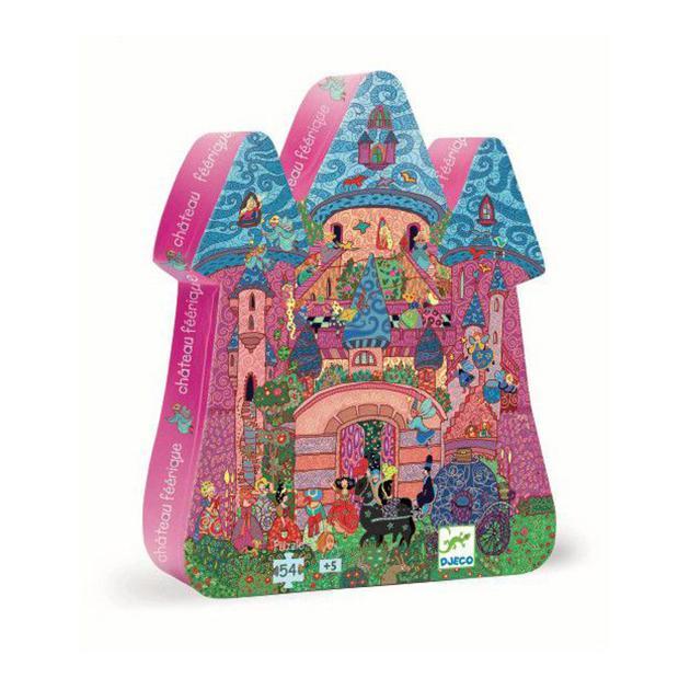 Puzzle castillo rosa
