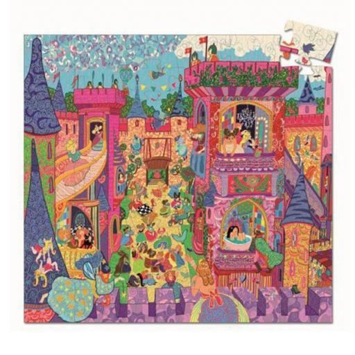 Puzzle castillo rosa [1]