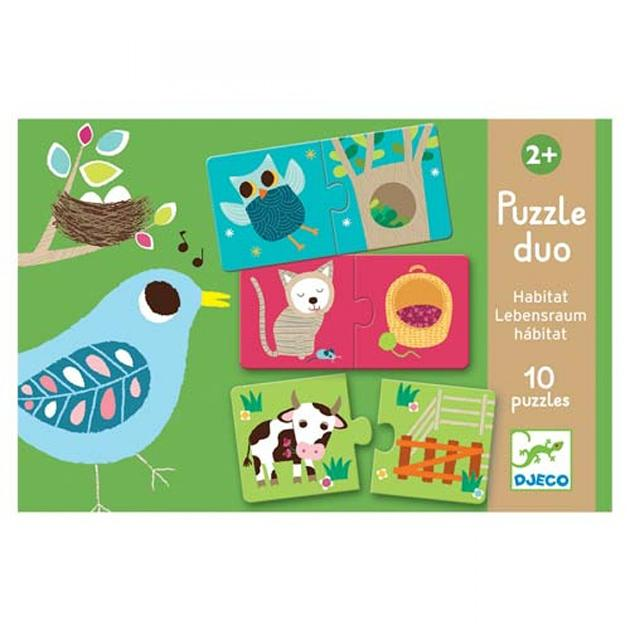 Puzzle dúo: habitat