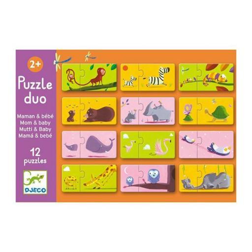 Puzzle dúo: mama y bebe  [1]