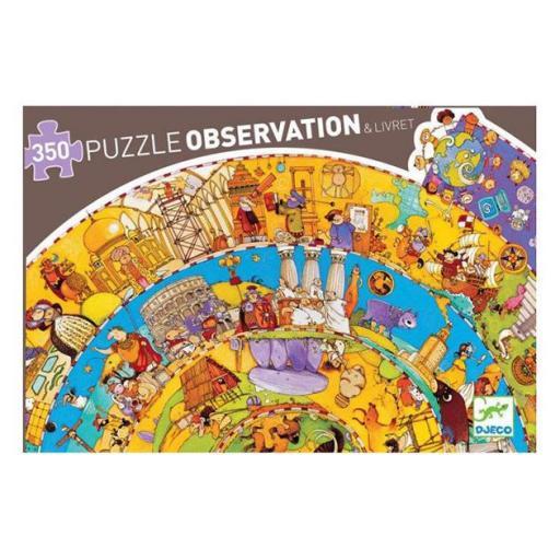 Puzzle observación: Historia