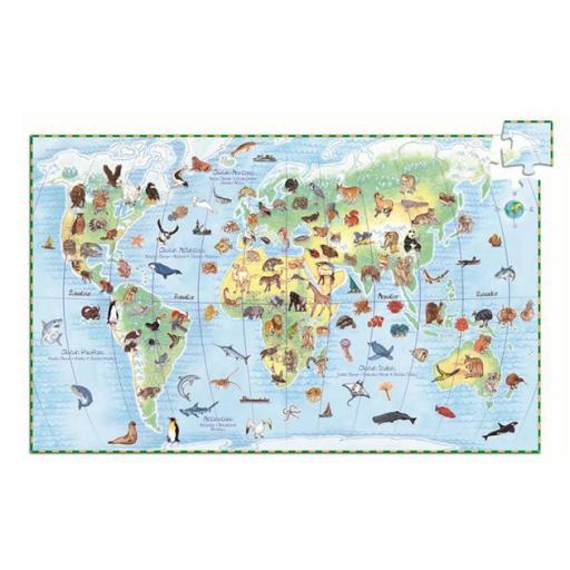 Puzzle observación: Los animales del mundo  [1]