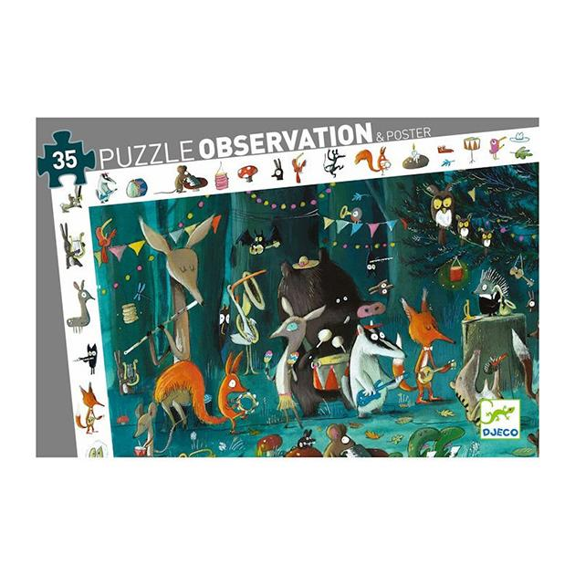 Puzzle observación: Bosque