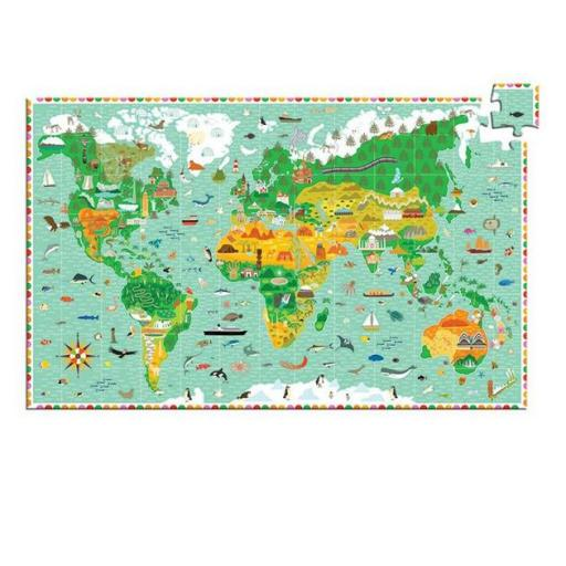 Puzzle observación: Mundo  [1]