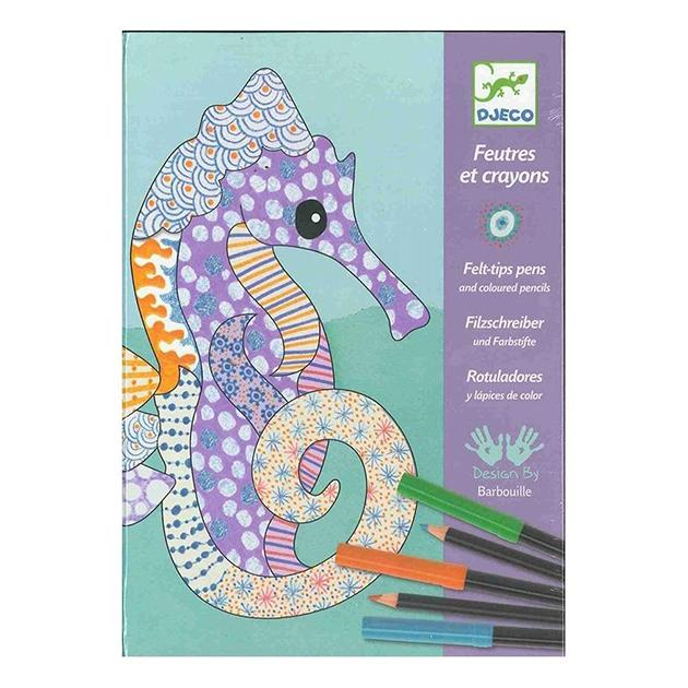 Rotuladores y lápices de colores
