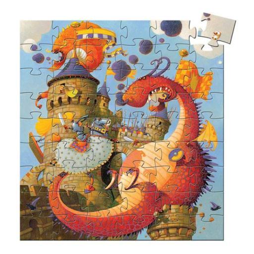 Puzzle vaillant y el dragón [1]
