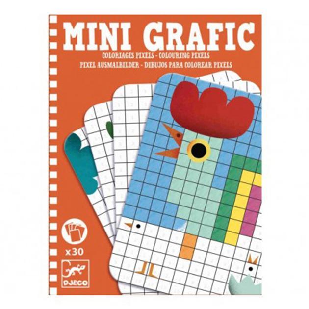 Mini grafic: dibujos para colorear pixels