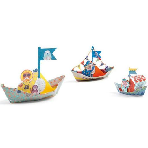 Origami. Barcos sobre el agua [1]