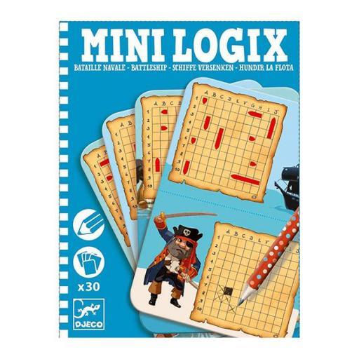 Mini logix: hundir la flota