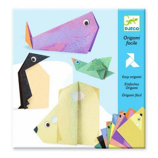 Origami fácil. Los animales polares