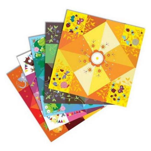 Origami. Saleros con prueba [1]