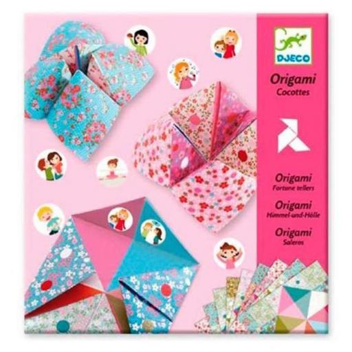 Origami: come cocos con prendas