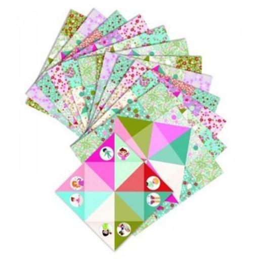 Origami: come cocos con prendas [1]