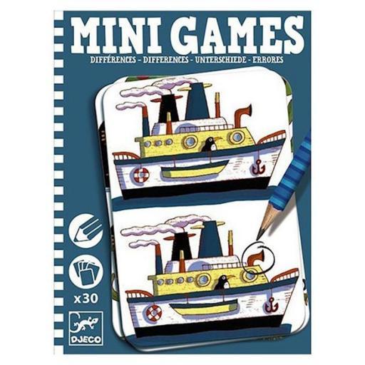Mini games: errores
