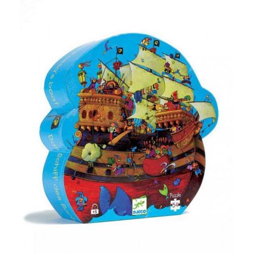Puzzle barco pirata