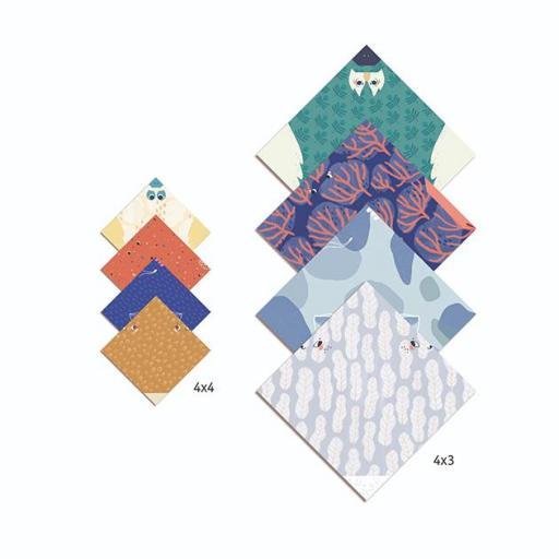 Origami fácil animales family  [1]