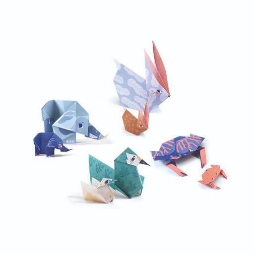 Origami fácil animales family  [2]