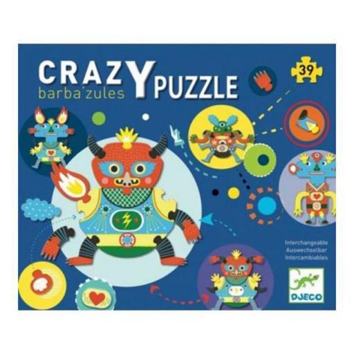 Crazy puzzle barba azules