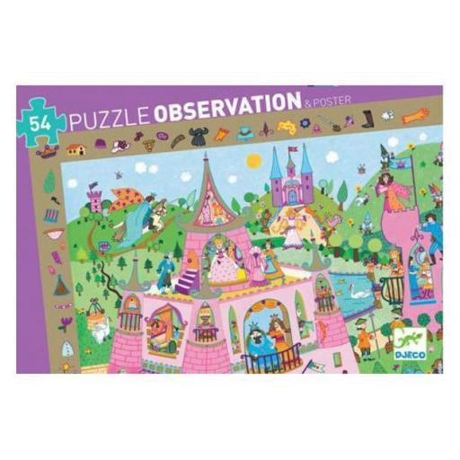 Puzzle observación: Princesas