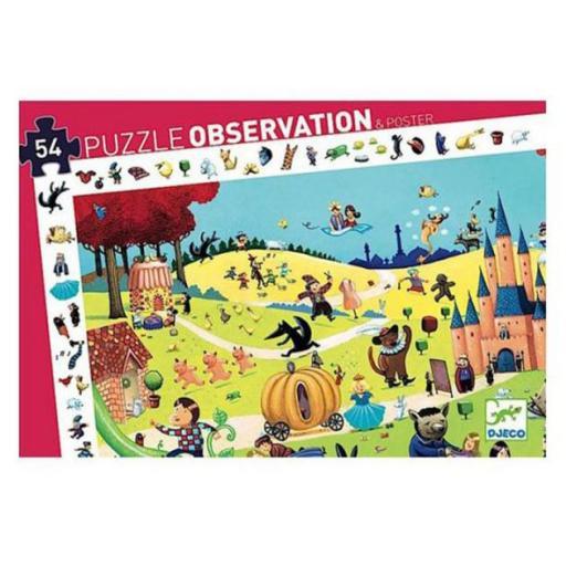 Puzzle observación: Los cuentos
