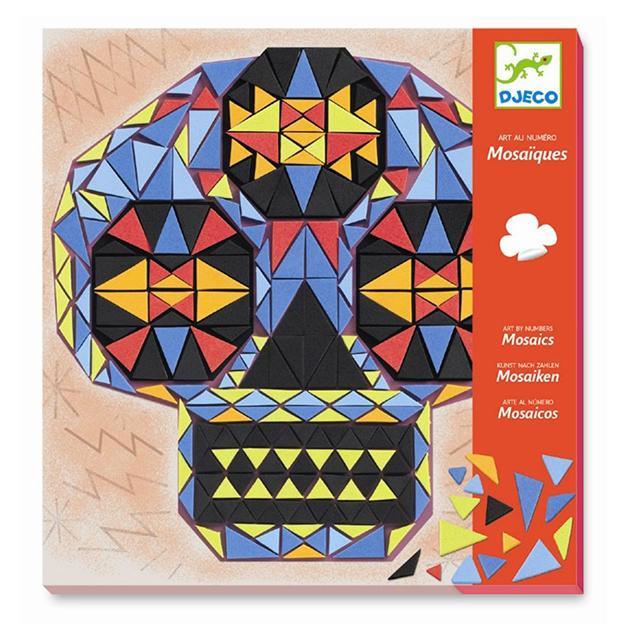 Mosaicos. Arte al número. Huan sin nombre