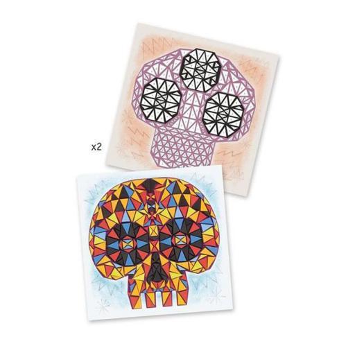 Mosaicos. Arte al número. Huan sin nombre [1]