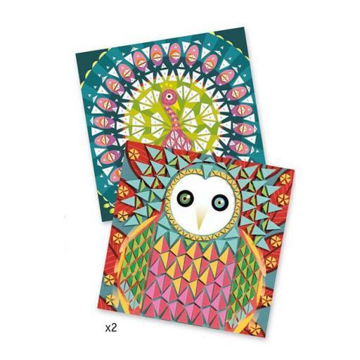 Mosaicos. Arte al número. Coco.  [1]