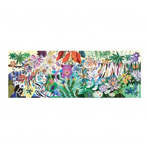 Puzzle rainbow tigers [1]