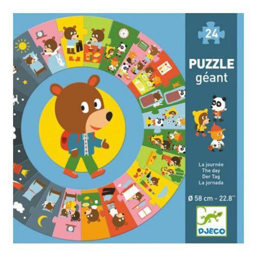 Puzzle gigante. La jornada