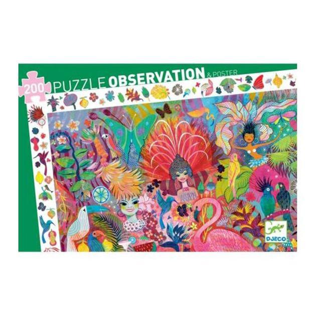 Puzzle observación. Carnaval