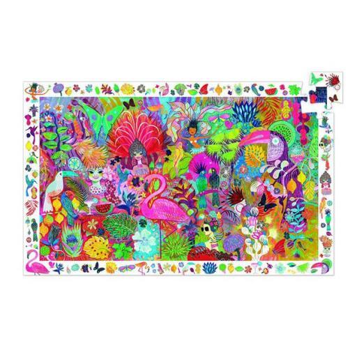 Puzzle observación. Carnaval  [1]