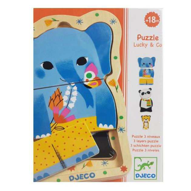 Puzzle lucky & co