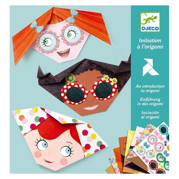 Iniciación al origami. Caritas