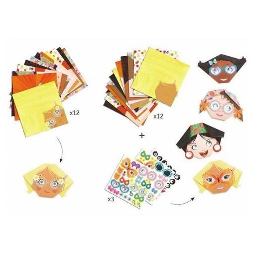 Iniciación al origami. Caritas [1]