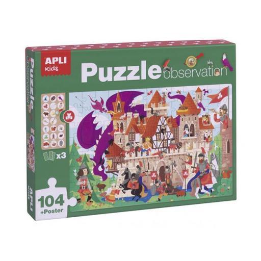 Puzzle observación castillo