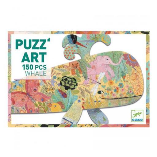 Puzzle ballena