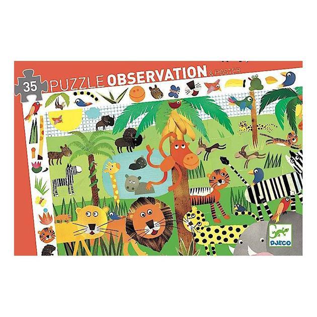 Puzzle observación: Jungla