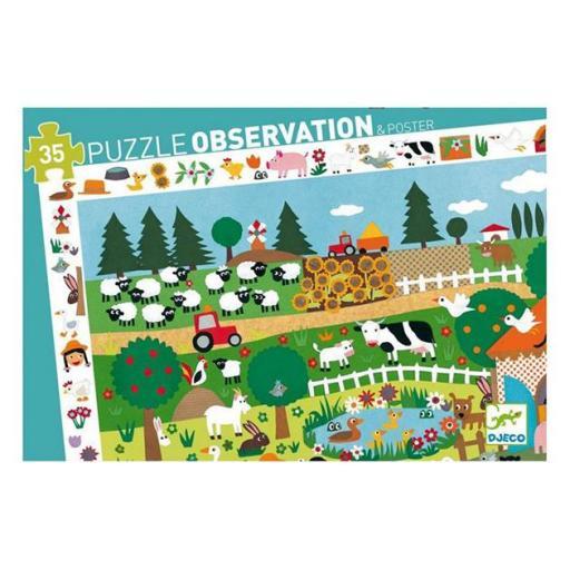 Puzzle observación: La granja