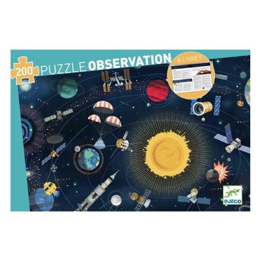 Puzzle observación: El espacio