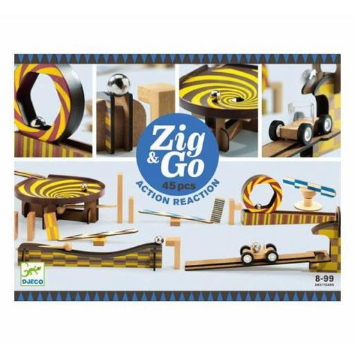 Construcción zig & go 45 piezas